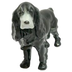 Metzler and Ortloff Cocker Spaniel Dog Figurine c.1950's - 1990