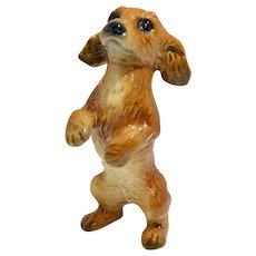 Goebel Begging Golden Retriever Puppy Figurine