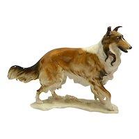 Hutschenreuther German Porcelain Rough Collie Figurine c.1969
