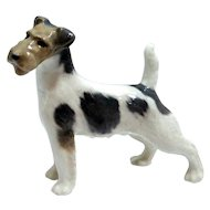 Royal Copenhagen Wire Haired Fox Terrier #2967