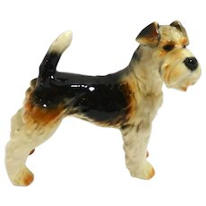 Vintage Goebel Fox Terrier Figurine c. 1972 - 1979