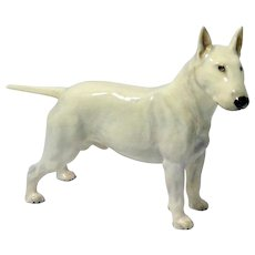 Rare Royal Doulton Bull Terrier Dog Figurine HN1132