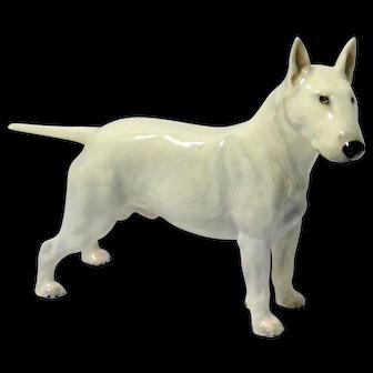 Rare Royal Doulton Bull Terrier Dog Figurine HN1132