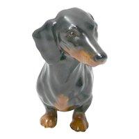 Vintage Goebel Dachshund Dog Figurine c. 1968 - 1979