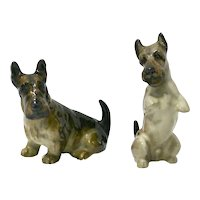 Royal Doulton Scottish Terrier Pair K18 and K10