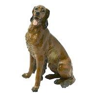 Rosenthal Porcelain Irish Setter Dog #1677
