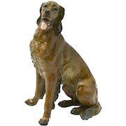 Porcelain Irish Setter Dog Figurine - Rosenthal