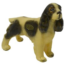 Vintage Morten's Studio Cocker Spaniel Dog c. 1930's - 1940's