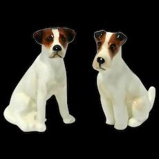 Royal Doulton Terrier Pair K8 And K7