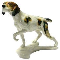 Karl Ens Sporting Dog Porcelain Figurine