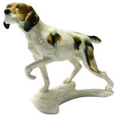 Karl Ens Sporting Dog Porcelain Figurine
