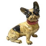 Hubley Cast Iron French Bulldog c.1930's
