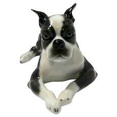 Rosenthal Boston Terrier Dog Figurine