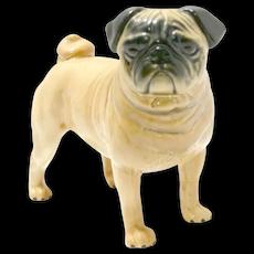 Porcelain Pug Figurine Beswick, England