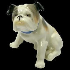 Metzler & Ortloff Porcelain Bulldog
