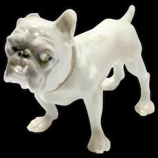 Bulldog Porcelain Figurine Dahl Jensen for Bing & Grondahl 1676