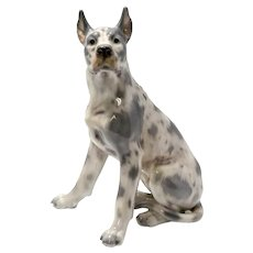Large Dahl-Jensen Harlequin Great Dane #1111