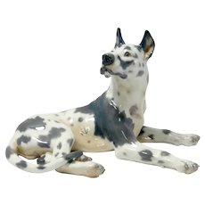 Large Dahl-Jensen Harlequin Great Dane #1112
