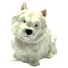 Royal Copenhagen West Highland Terrier Dog