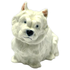 Royal Copenhagen West Highland Terrier Dog
