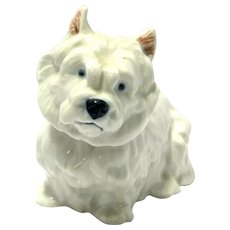 West Highland Terrier Dog Royal Copenhagen
