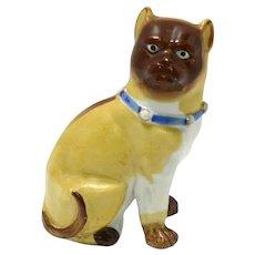 Antique Miniature Pug Porcelain Figurine