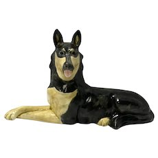 Haeger German Shepherd Figurine