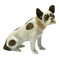 Art Deco Rosenthal Porcelain French Bulldog c. 1920's