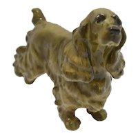 Hutschenreuther English Cocker Spaniel  Porcelain Dog Figurine