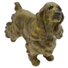 Hutschenreuther English Cocker Spaniel Porcelain Figurine