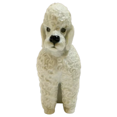 Rare Rosenthal Seated Poodle c.1950's