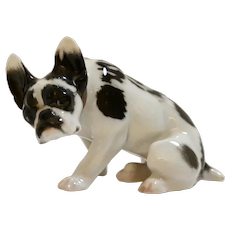 Rosenthal French Bulldog Figurine c.1915-1918