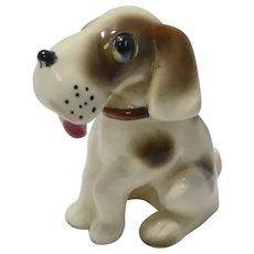 Occupied Japan Beagle Puppy Figurine