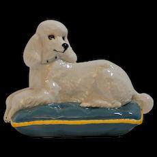 Royal Doulton Recumbent Poodle Dog