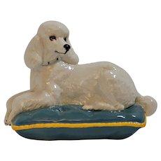 Royal Doulton Recumbent Poodle