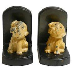 Art Deco Nuart Dog Bookends