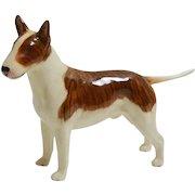 Beswick Porcelain Brindle Bull Terrier Dog Figurine