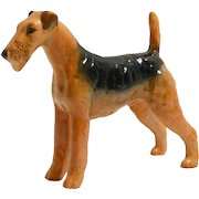 Beswick Airedale Dog Figurine