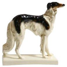 Porcelain Borzoi Dog Figurine ERPHILA Germany