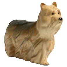 Vintage Porcelain Yorkshire Terrier Dog Figurine Beswick, England