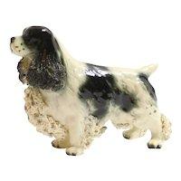 Vintage Porcelain Cocker Spaniel Dog