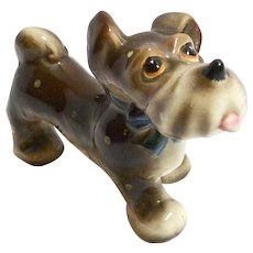Occupied Japan Whimsical Terrier Dog c.1945 - 1952
