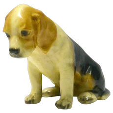 Mortens Studio Beagle Puppy c.1930's - 1940's