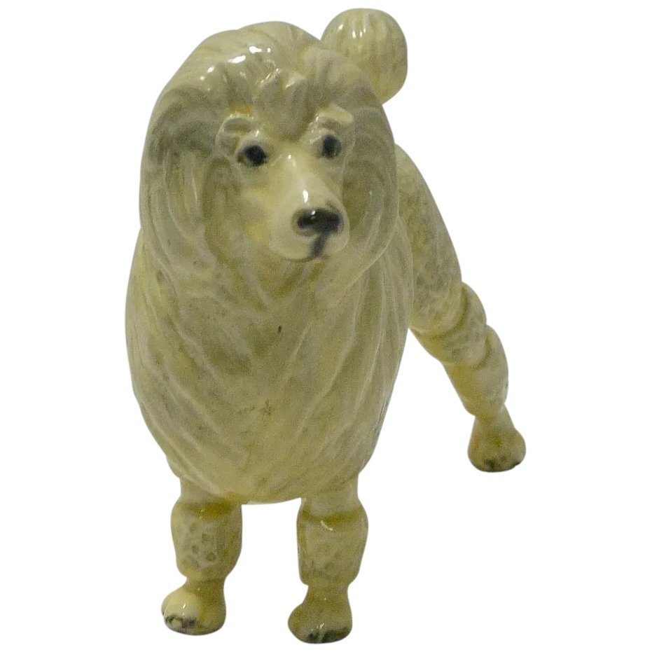 Mortens Studio Standard Poodle Figurine A Dog S Tale Collectibles Ruby Lane