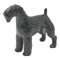 Vintage Mortens Studio Kerry Blue Terrier Dog c.1930's-1960