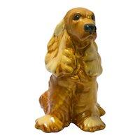 Retired Royal Haeger Cocker Spaniel Dog c.1940