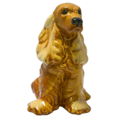 Retired Royal Haeger Cocker Spaniel c.1940
