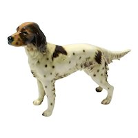 Goebel Irish Red & White Setter Dog Figurine