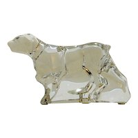 Baccarat Crystal Pointer Dog