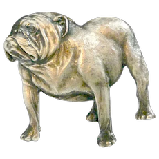 Vintage Kennart English Bulldog Pin